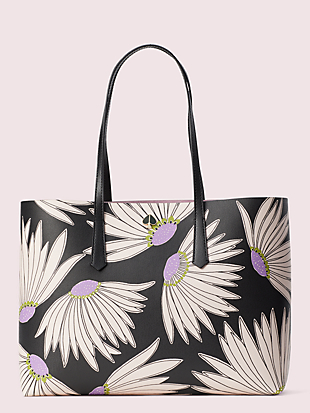 molly falling flower large tote by kate spade new york non-hover view