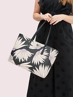 molly falling flower large tote by kate spade new york hover view