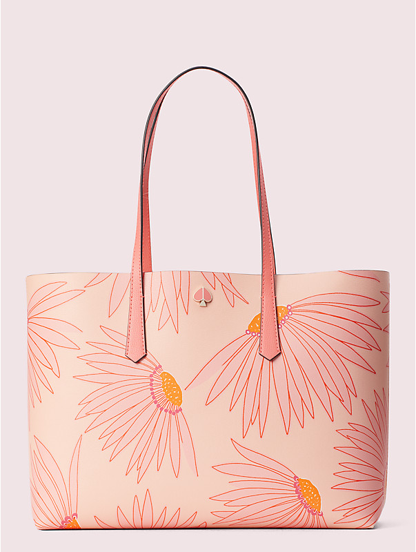 molly falling flower large tote, , rr_large