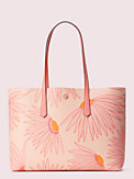molly falling flower large tote, , s7productThumbnail