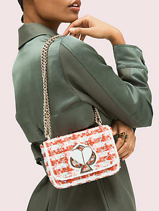 nicola tweed twistlock small convertible chain shoulder bag by kate spade new york hover view