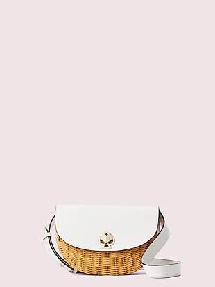 케이트 스페이드 니콜라 슬링백 미디움 Kate Spade nicola wicker twistlock medium sling bag