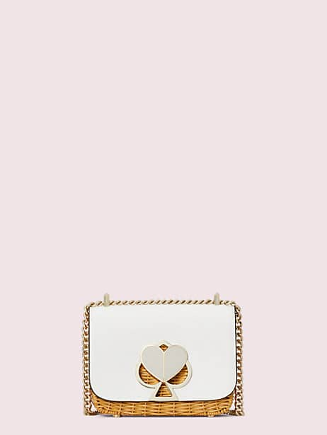 nicola wicker twistlock small convertible chain shoulder bag by kate spade new york