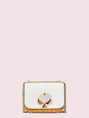 nicola wicker twistlock small convertible chain shoulder bag by kate spade new york non-hover view