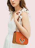 nicola wicker twistlock small convertible chain shoulder bag, , s7productThumbnail