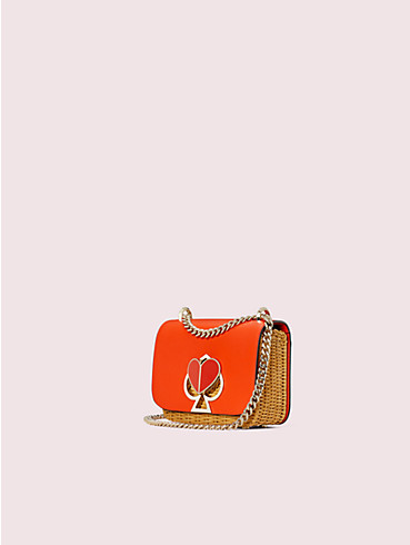 nicola wicker twistlock small convertible chain shoulder bag, , rr_productgrid