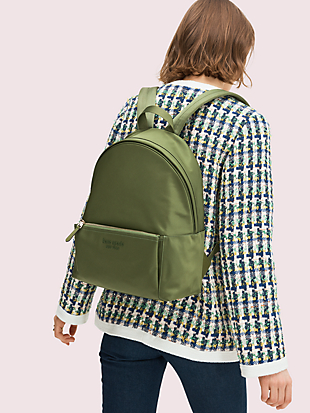nylon city pack large backpack by kate spade new york hover view