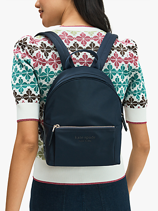 nylon city pack medium backpack by kate spade new york hover view