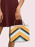 romy intarsia medium satchel, , s7productThumbnail