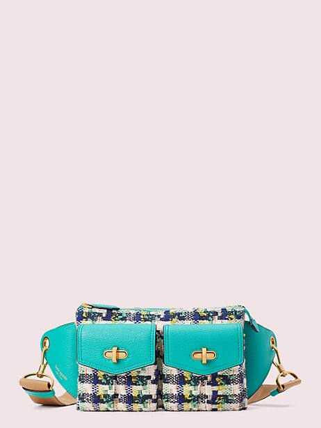 cargo tweed medium sling bag by kate spade new york