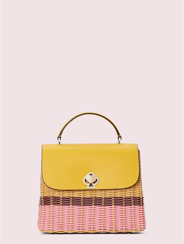 romy wicker medium top-handle bag, , rr_large
