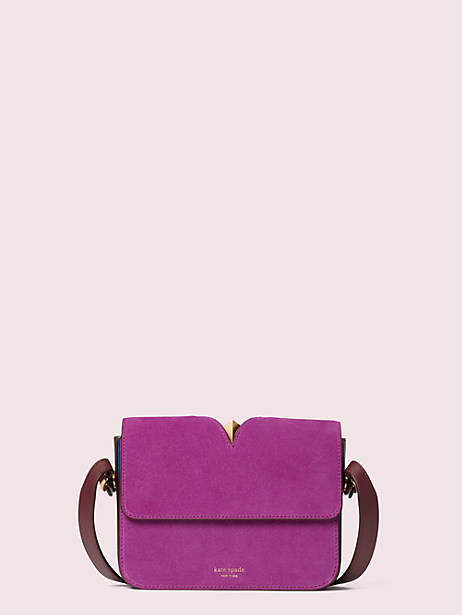 mystery suede small shoulder bag by kate spade new york