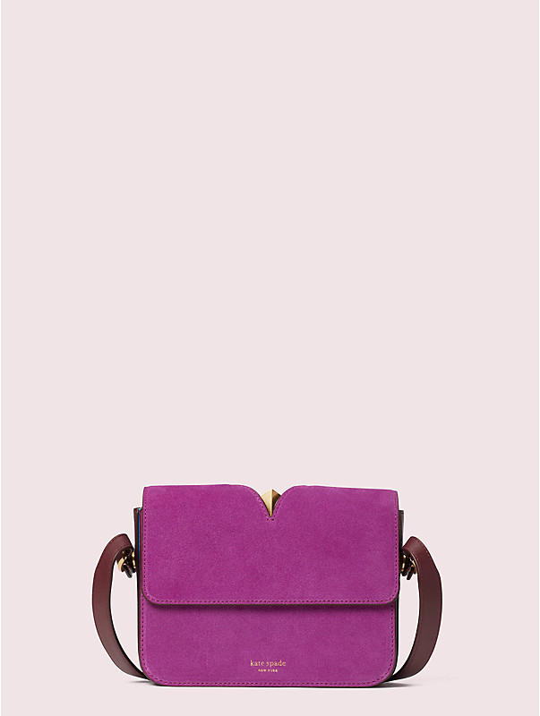 mystery suede small shoulder bag, , rr_large