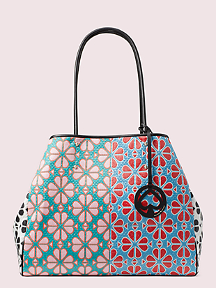 everything spade flower large tote by kate spade new york non-hover view