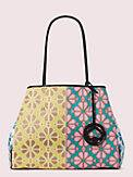 everything spade flower large tote, , s7productThumbnail
