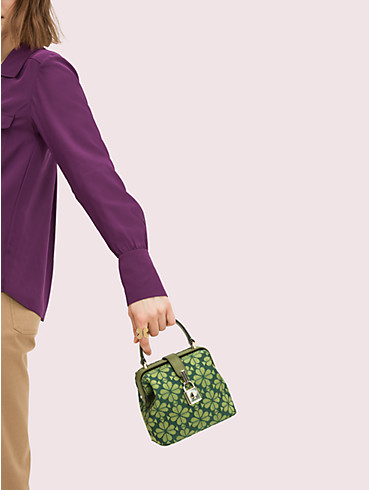 remedy spade flower small top-handle bag, , rr_productgrid