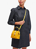 remedy spade flower small top-handle bag, , s7productThumbnail
