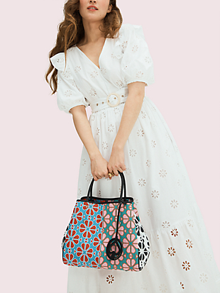 everything spade flower medium tote by kate spade new york hover view