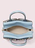 spencer snake-embossed mini satchel, , s7productThumbnail