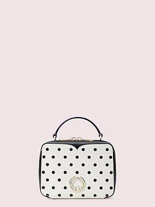 vanity cabana dot mini top-handle bag by kate spade new york non-hover view