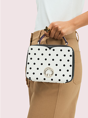 vanity cabana dot mini top-handle bag, , rr_productgrid