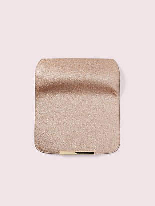 heritage make it mine glitter flap by kate spade new york non-hover view