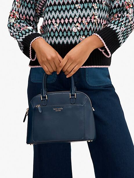 louise small dome satchel, nightcap, productThumbnail