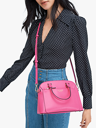 louise small dome satchel by kate spade new york hover view