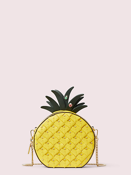 picnic pineapple crossbody by kate spade new york