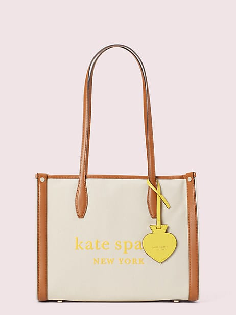 market canvas medium tote by kate spade new york