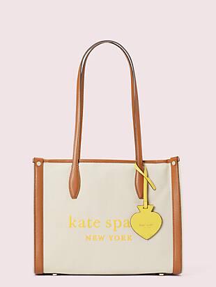 케이트 스페이드 마켓백 미디움 Kate Spade market canvas medium tote