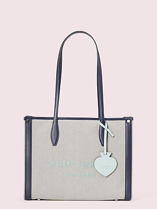 market canvas medium tote by kate spade new york non-hover view