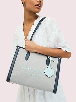 market canvas medium tote by kate spade new york hover view