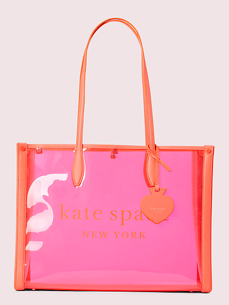 market see-through large tote by kate spade new york