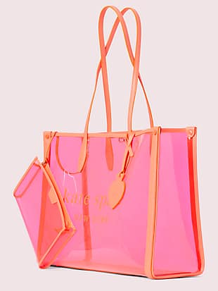 market see-through large tote by kate spade new york hover view