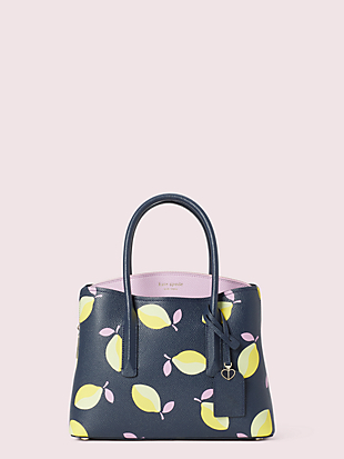 margaux lemons medium satchel by kate spade new york non-hover view
