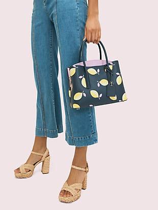 margaux lemons medium satchel by kate spade new york hover view