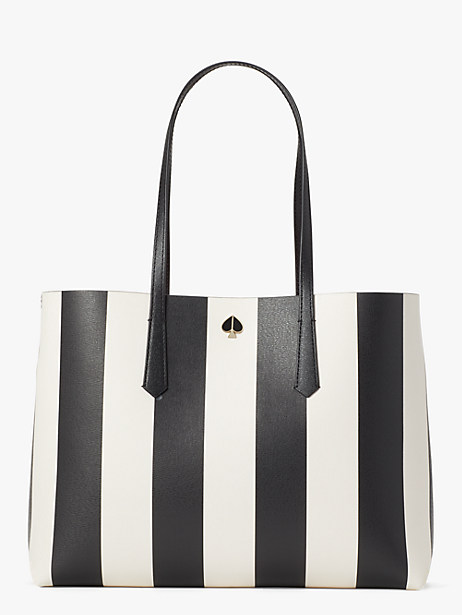 molly stripe large tote by kate spade new york