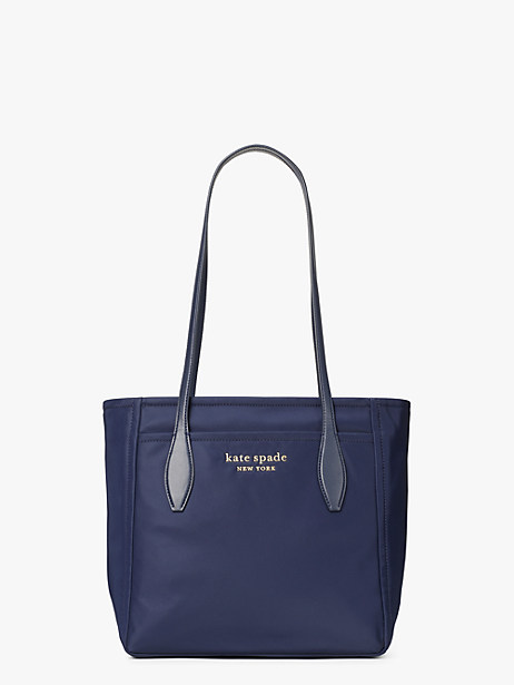 daily medium tote, rich navy, large by kate spade new york