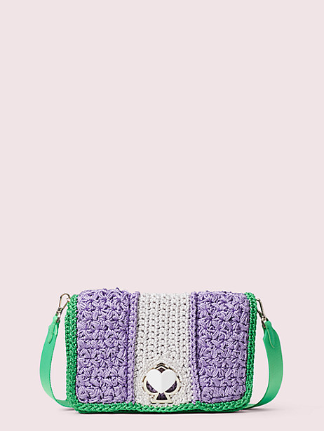 nicola knit twistlock medium shoulder bag by kate spade new york