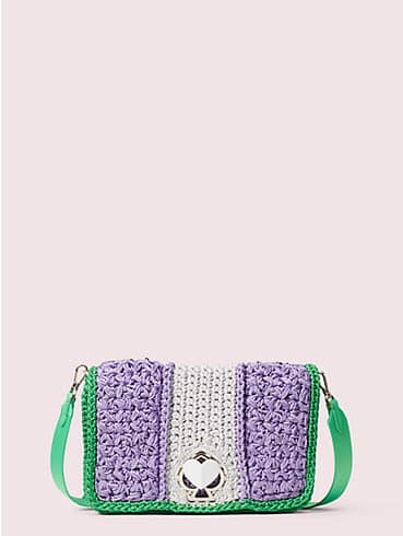 nicola knit twistlock medium shoulder bag, , rr_productgrid