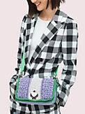 nicola knit twistlock medium shoulder bag, , s7productThumbnail