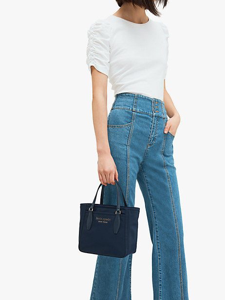 daily small satchel, rich navy, productThumbnail
