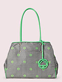 everything gingham large tote, , s7productThumbnail