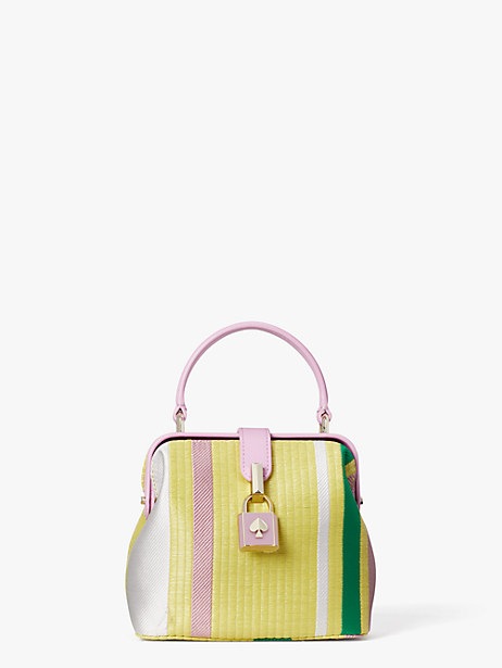 remedy stripe small top-handle bag by kate spade new york