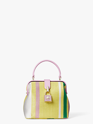 remedy stripe small top-handle bag by kate spade new york non-hover view