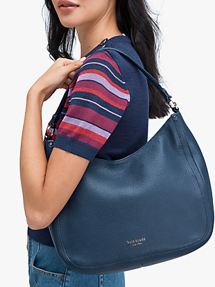 roulette large hobo bag by kate spade new york hover view