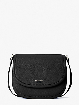 roulette large saddle bag by kate spade new york non-hover view