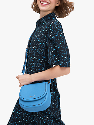 roulette small saddle bag by kate spade new york hover view