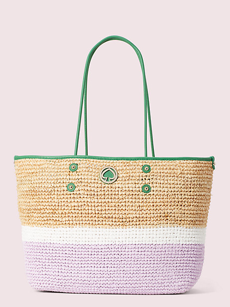 straw large tote by kate spade new york